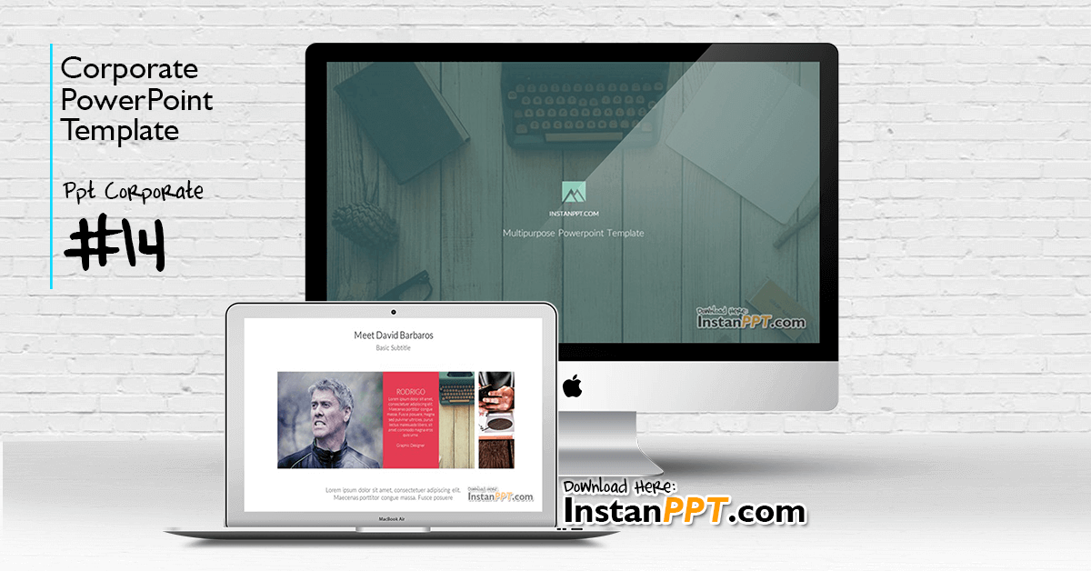 InstanPPT - PowerPoint Template Corporate 14