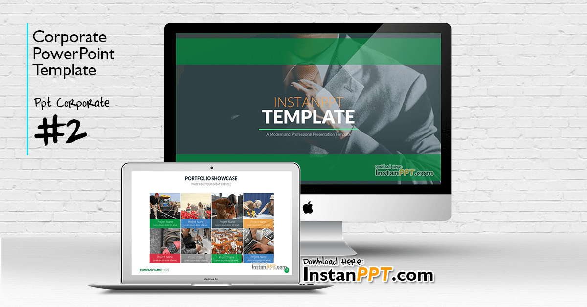 InstanPPT - PowerPoint Template Corporate 2
