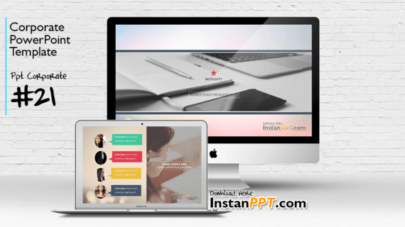 PowerPoint Template Corporate 21