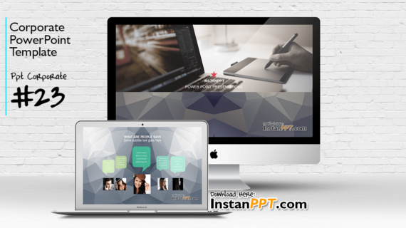 PowerPoint Template Corporate 23