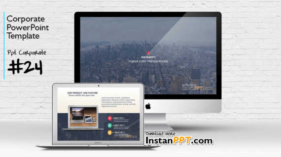 PowerPoint Template Corporate 24