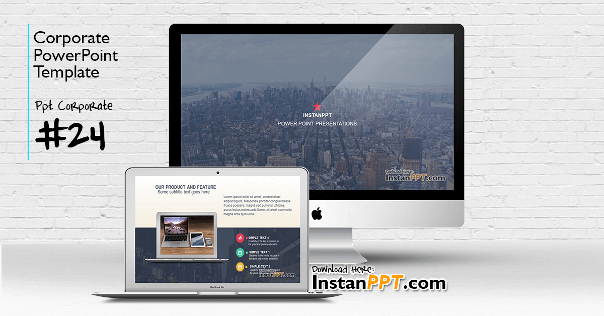 InstanPPT - PowerPoint Template Corporate 24