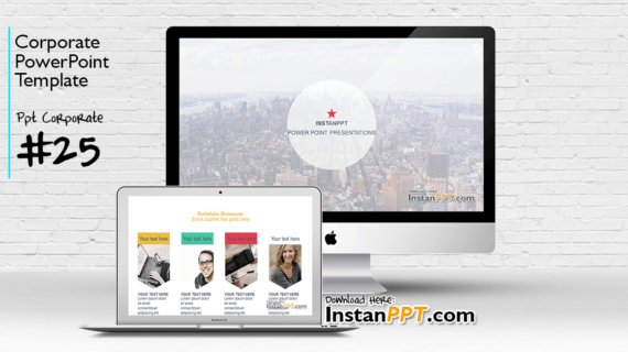 PowerPoint Template Corporate 25