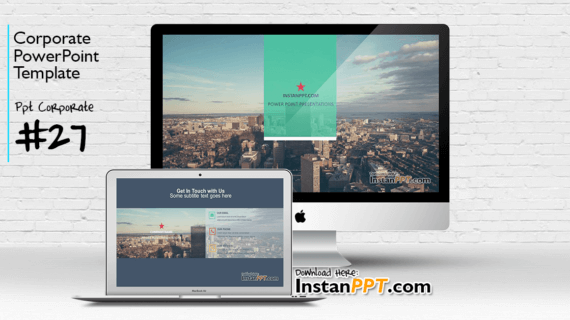 PowerPoint Template Corporate 27