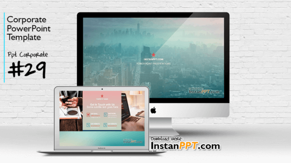 PowerPoint Template Corporate 29