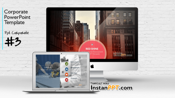 PowerPoint Template Corporate 3