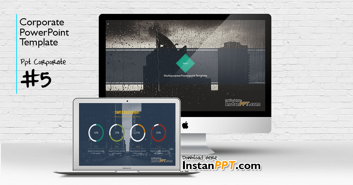 InstanPPT - PowerPoint Template Corporate 5