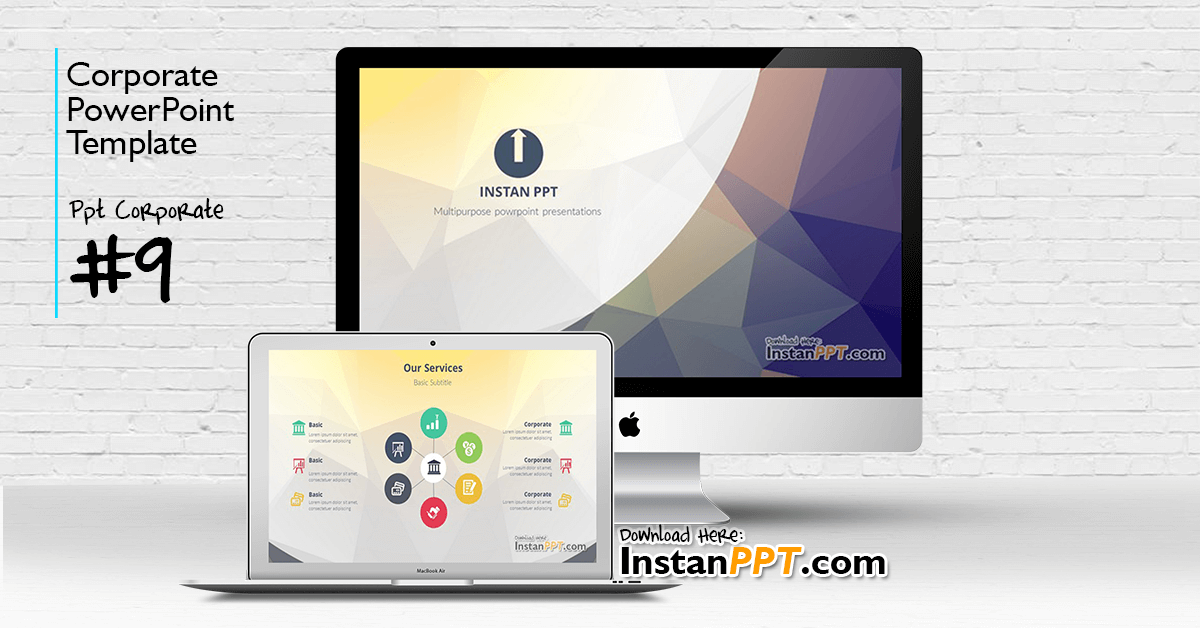 InstanPPT - PowerPoint Template Corporate 9